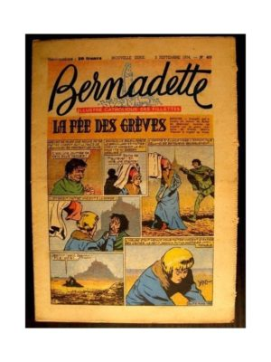BERNADETTE  n°405 (1954) LA FEE DES GREVES (Miette et Totoche)