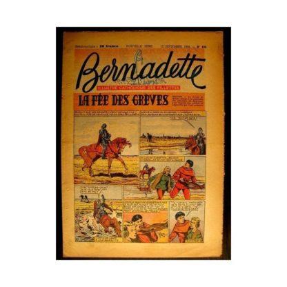 BERNADETTE n°406 (1954) LA FEE DES GREVES (Miette et Totoche)