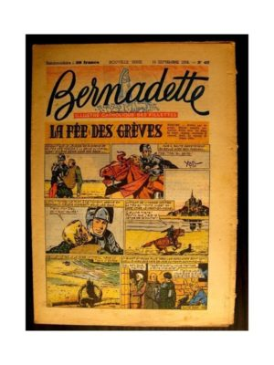 BERNADETTE n°407 (1954) LA FEE DES GREVES (Miette et Totoche)