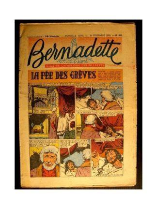 BERNADETTE n°408 (1954) LA FEE DES GREVES (Miette et Totoche)