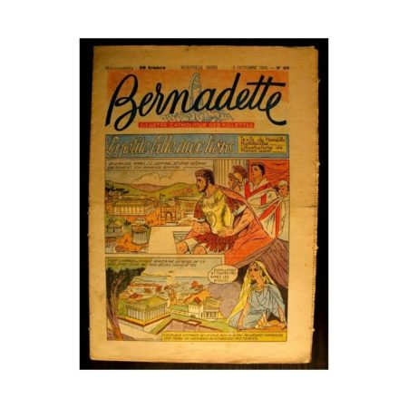 BERNADETTE n°409 (1954) LA PETITE FILLE AUX LIONS (Miette et Totoche)