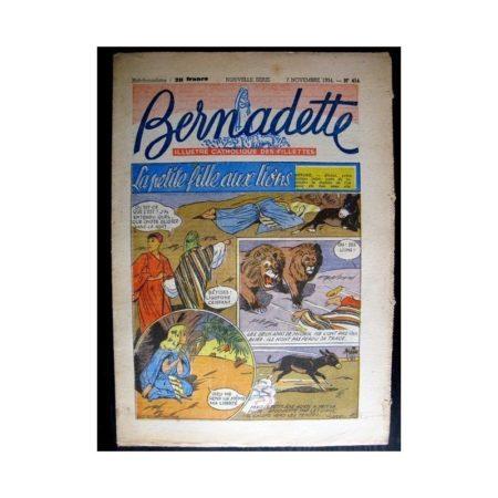 BERNADETTE n°414 (1954) LA PETITE FILLE AUX LIONS (Miette et Totoche)
