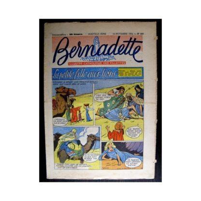 BERNADETTE n°415 (1954) LA PETITE FILLE AUX LIONS (Miette et Totoche)