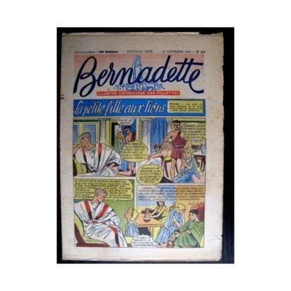 BERNADETTE n°416 (1954) LA PETITE FILLE AUX LIONS (Miette et Totoche)