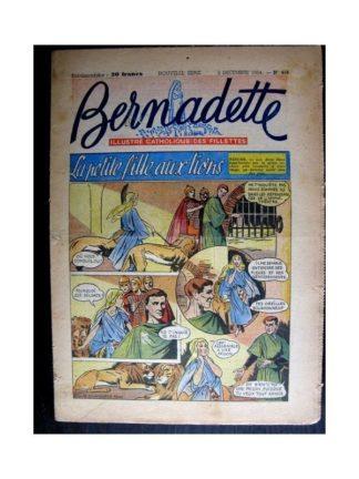 BERNADETTE n°418 (1954) LA PETITE FILLE AUX LIONS (Miette et Totoche)