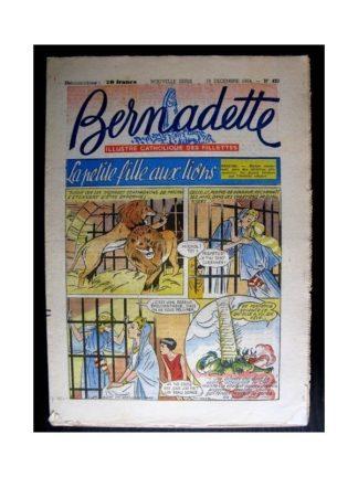 BERNADETTE n°420 (1954) LA PETITE FILLE AUX LIONS (Miette et Totoche)