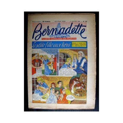 BERNADETTE n°422 (1955) LA PETITE FILLE AUX LIONS (Miette et Totoche)