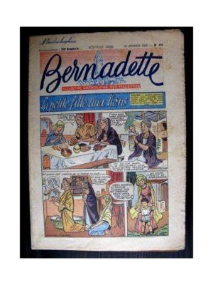 BERNADETTE  n°430 (1955) LA PETITE FILLE AUX LIONS (Miette et Totoche)