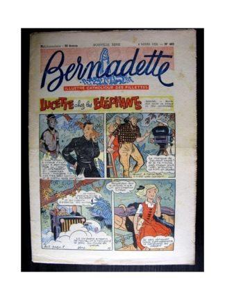 BERNADETTE n°483 (1956) LUCETTE CHEZ LES ELEPHANTS