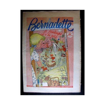 BERNADETTE n°485 (1956) LUCETTE CHEZ LES ELEPHANTS