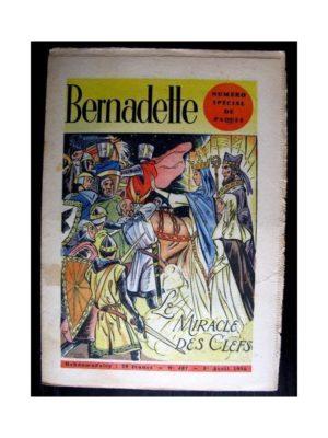 BERNADETTE  n°487 (1956) NUMERO SPECIAL Pâques – LE MIRACLE DES CLEFS