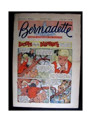 BERNADETTE n°492 (1956) LUCETTE CHEZ LES ELEPHANTS