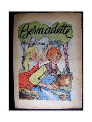 BERNADETTE n°495 (1956) VIVE MAMAN! (LUCETTE CHEZ LES ELEPHANTS)
