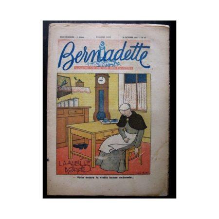 BERNADETTE n°47 (26 octobre 1947) LA VIEILLE BONNE