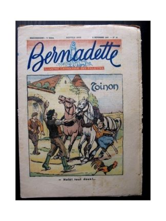 BERNADETTE n°48 (2 novembre 1947) TOINON / LA CLOCHE DE FLORWALD