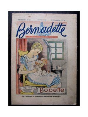 BERNADETTE N°50 (16 novembre 1947) BOBETTE / RAYMOND MORITZ