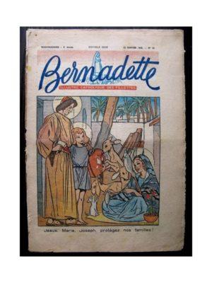 BERNADETTE  n°58 (11 janvier 1948) MARTIN PELUCHE – SYLVIE AU PUITS DES DESPERADOS