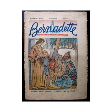 BERNADETTE n°58 (11 janvier 1948) JESUS MARIE JOSEPH