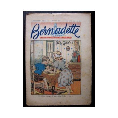 BERNADETTE n°63 (15 FEVRIER 1948) POUSSINOU