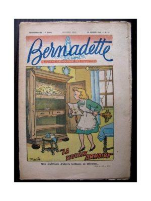 BERNADETTE  n°65 (29 FEVRIER 1948) LA VIEILLE ARMOIRE (Emile)