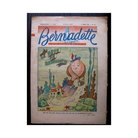 BERNADETTE n°66 (7 mars 1948) LE REVE DE BERNADETTE (Emile)
