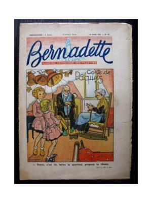 BERNADETTE  n°69 (28 mars 1948) CONTE DE PAQUES / L'OISEAU DES ILES