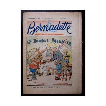 BERNADETTE n°71 (11 avril 1948) LE DIABLE MEUNIER (Jobbé Duval)