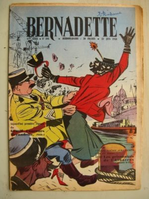 BERNADETTE N°104 (24 juin 1958) Saadi (conte persan) H. le Bourder – Lilioute et le chevalier Perce-Brume  (Manon Iessel)