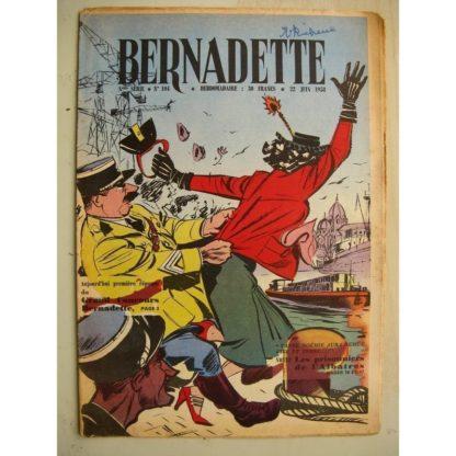 BERNADETTE N°104 (24 juin 1958) Saadi (conte persan) H. le Bourder - Lilioute et le chevalier Perce-Brume (Manon Iessel)