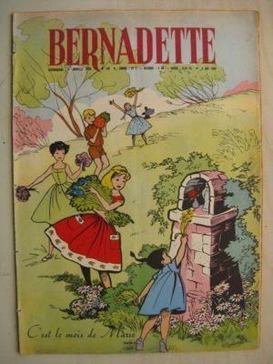 BERNADETTE N°149 (3 mai 1959) Les fleurs (Solveg) Lutin d'or (J. Janvier) La fée du Ranch (Alain d'Orange – Albert Bonneau)