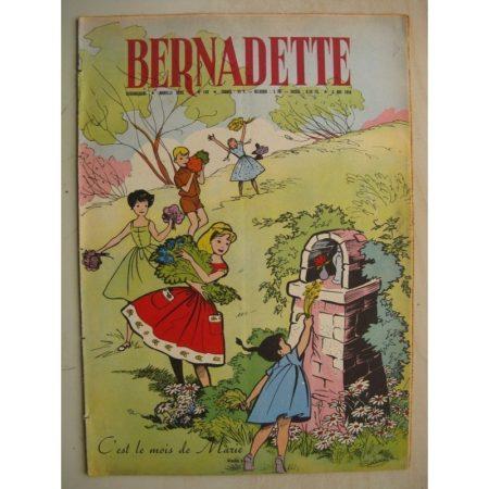 BERNADETTE N°149 (3 mai 1959) Les fleurs (Soilveg) Lutin d'or (J. Janvier) La fée du Ranch (Alain d'Orange - Albert Bonneau)
