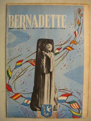BERNADETTE N°150 (10 mai 1959) PAX CHRISTI – La visite de May Fidèline (Léonide) La fée du Ranch (Alain d'Orange) Janine Lay