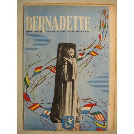 BERNADETTE N°150 (10 mai 1959) PAX CHRISTI - La visite de May Fidèline (Léonide) La fée du Ranch (Alain d'Orange) Janine Lay