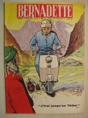BERNADETTE N°158 (5 juillet 1959) J'irai au Thibet (Tiky – Gaston Jacquement) La fée du Ranch (Alain d'Orange – Albert Bonneau)