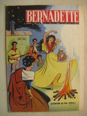 BERNADETTE N°162 (2 août 1959) Etoile Bleue (Isabelle Gendron – J. Janvier) Source du Bois-Joli (André Chosalland – Janine Lay)