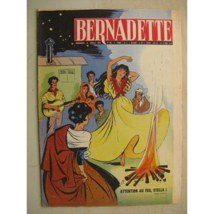 BERNADETTE N°162 (2 août 1959) Etoile Bleue (Isabelle Gendron - J. Janvier) Source du Bois-Joli (André Chosalland - Janine Lay)