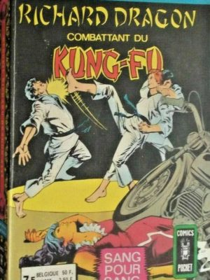 RICHARD DRAGON Combattant du Kung-Fu ALBUM 3145 (n°3-4) AREDIT