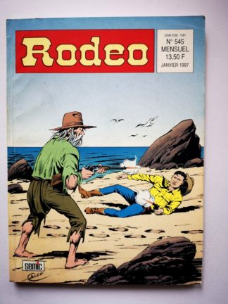 RODEO N° 545 TEX WILLER - Desperados (3e partie) LUG BD