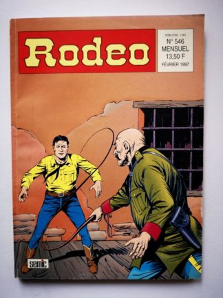 RODEO N° 546 TEX WILLER - Desperados (fin) LUG BD