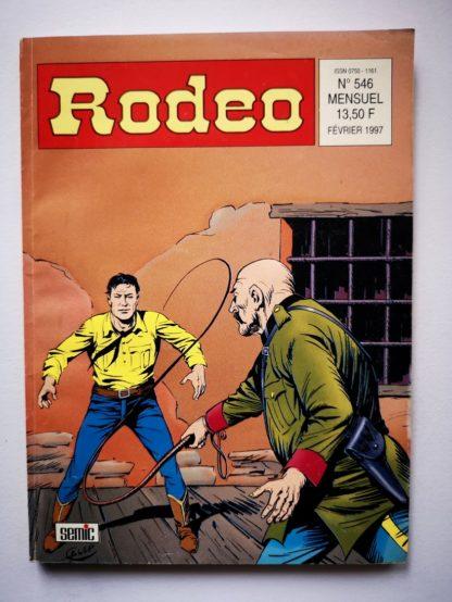 RODEO N° 546 TEX WILLER - Desperados (fin) LUG BD