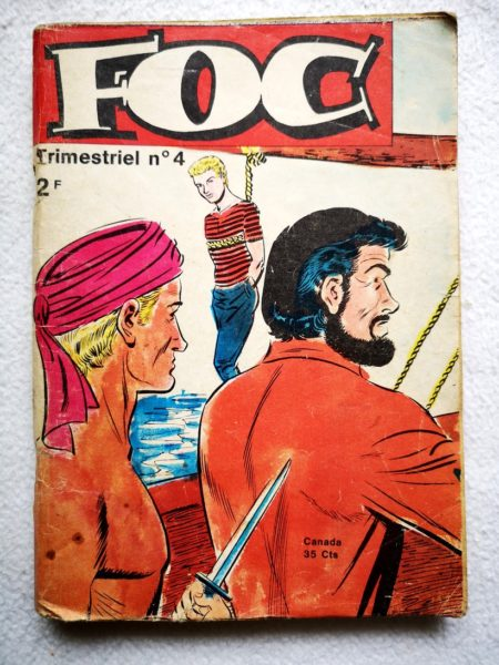 FOC N°4 - L'aigle des 7 mers (Jeunesse et Vacances 1970)