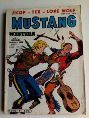Mustang n°81 - TEX Willer