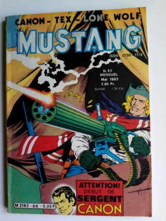 Mustang n°86 - TEX Willer