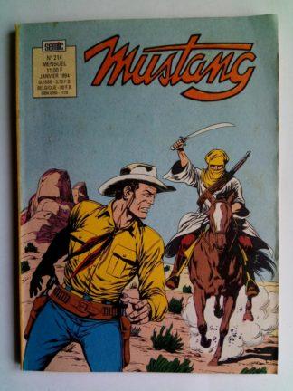 Mustang n°214 - TEX Willer