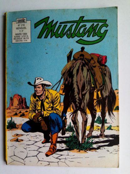 Mustang n°216 - TEX Willer