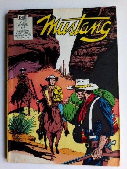 Mustang n°217 - TEX Willer