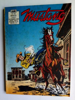 MUSTANG N°225 – TEX WILLER (Chasse à l'homme – 4e partie) SEMIC 1994