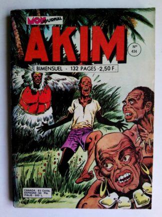 BD AKIM N°434 - LA FLEUR DE LA MORT - Mon Journal 1977