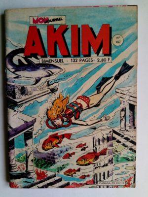 AKIM (1e série) N°457 Le lac noir (MON JOURNAL 1978)