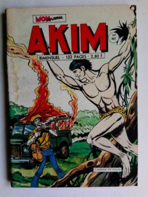 AKIM (1e série) N°467 – LA VALLEE DES ORCHIDEES NOIRES (Mon Journal 1979)